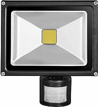 Leetop 10W 20W 30W 50W Foco LED con Sensor