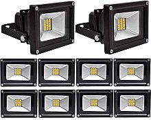 Leetop 10x20W SMD LED Foco Proyector Focos LED