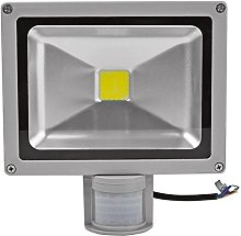 Leetop 20W Foco LED + Sensor de Movimiento para
