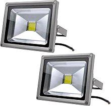 Leetop 2X 20W Foco LED Proyector de Luz Lámpara