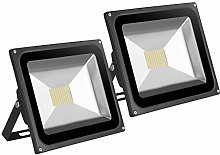 Leetop 2x80W SMD LED Foco Proyector Focos LED