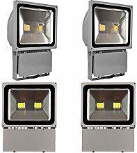 Leetop 4X 100W Foco LED Proyector de Luz Lámpara
