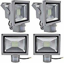 Leetop 4X 30W Blanco Frío Lámpara de inducción