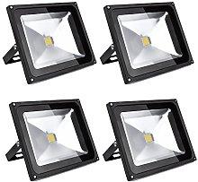 Leetop 4X 50W Foco LED Proyector de Luz Lámpara