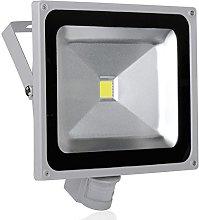 Leetop 50W Blanco Frio LED Foco Proyector Luz,