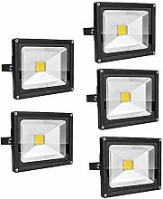 Leetop 5X 20W Foco LED Proyector de Luz Lámpara