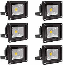 Leetop 6x10W Foco LED Proyector de Luz Lámpara