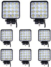 Leetop 8 x 48 vatios 16 1616 proyector LED de luz
