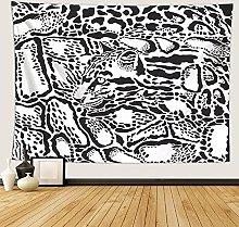 Leopardo Animal Tapiz Mandala Manta Pared Grande