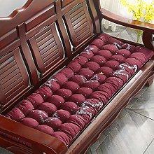 Lesong - Cojín para banco de banco de madera, 2 o
