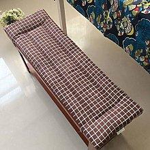 Lesong Garden - Cojín rectangular para banco de