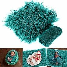 Leyeet 2 mantas para fotos de bebé y recién