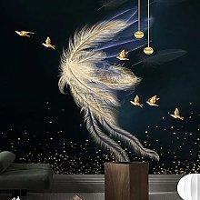 LHGBGBLN Papel tapiz mural de sala de estar 3D