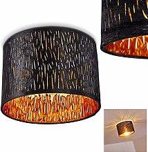 Liared - Lámpara de techo redonda con pantalla de