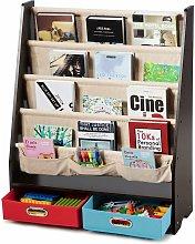 Librería para Niños Estantería con 2 Cajas de
