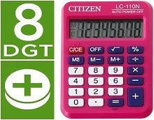 Liderpapel - Calculadora citizen bolsillo lc-110 8