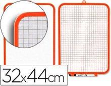 Liderpapel - Pizarra blanca 32x44 cm con rotulador