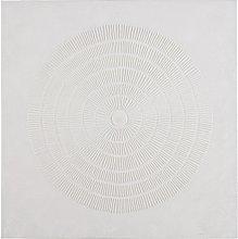 Lienzo blanco pintado 87x88