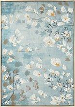 Lienzo con estampado floral 63x90