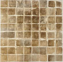 Lienzo marrón pintado 100x100