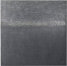 Lienzo pintado negro 100x100