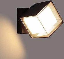 Lightess Apliques de Pared Exterior 12W Lámpara
