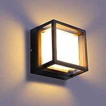 Lightess Apliques de Pared Exterior 18W Lámpara