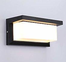 Lightess Apliques de Pared Exterior LED 12W