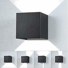 Lightess Apliques de Pared LED Luz Moderna 10W