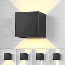 Lightess Lámpara de Pared Exterior Apliques de