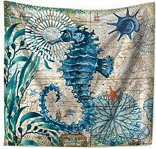 Lihan Tapicería Tapiz Serie oceanica Animales