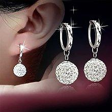 LILOVE Fashion Ball Earrings, Rhinestone Earring,