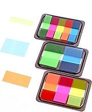 LILOVE Memo Paper, Gradient Color Index Memo Pad