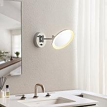 Lindby Fiana espejo cosmético con luz LED