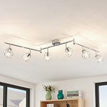 Lindby Giada foco de techo LED, 6 luces