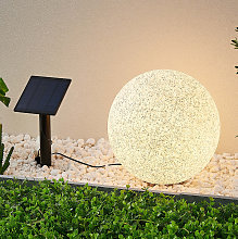 Lindby Hamela decorativa solar LED, RGB, 30cm