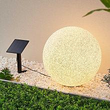Lindby Hamela decorativa solar LED, RGB, 40cm