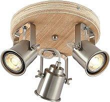 Lindby Mikadi foco de techo, 3 luces
