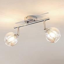 Lindby Pranas foco de techo LED, 2 luces