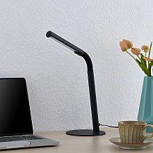 Lindby Romila lámpara de mesa LED, de trabajo