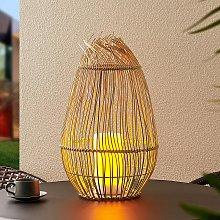 Lindby Soliana lámpara decorativa solar, alto 41cm