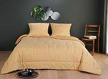 Linder - Colcha de Cama, Color Amarillo, 180 x 240