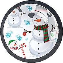 Lindo muñeco de nieve de Navidad en fondo blanco