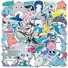 Lindos animales tiburón pegatinas portátil