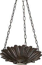 linoows Comedero para pájaros, diseño de flor,