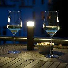 Linterna batería LED lámpara exterior Paul Basic