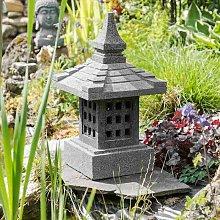 Linterna japonesa piedra de lava 55 cm