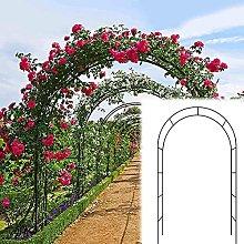 LIOYUHGTFY Arco de Jardín de Metal Arco para
