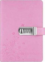 Lirener Recargable Cuaderno de Cuero PU Notebook