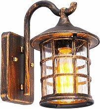 LITZEE Lámpara de pared antigua lámpara de pared